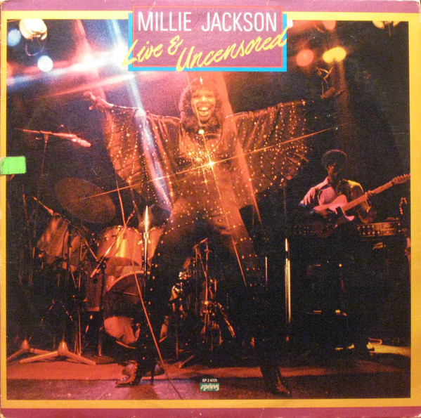 Millie Jackson - Live And Uncensored - vinyl record