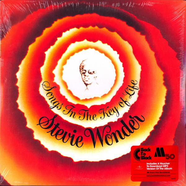 Stevie Wonder - Songs In The Key Of Life - vinyl record