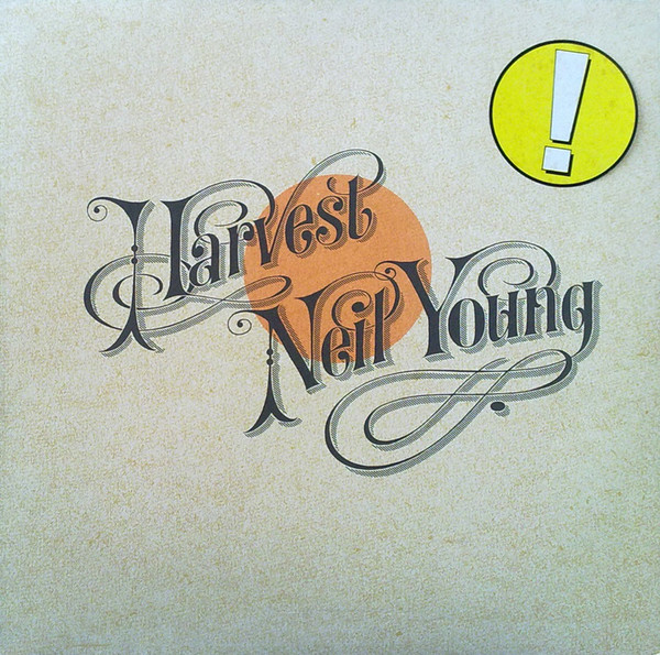 Neil Young - Harvest - vinyl record