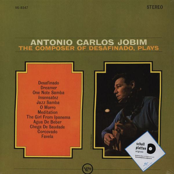 Antonio Carlos Jobim - The Composer Of Desafinado, Plays - vinyl record