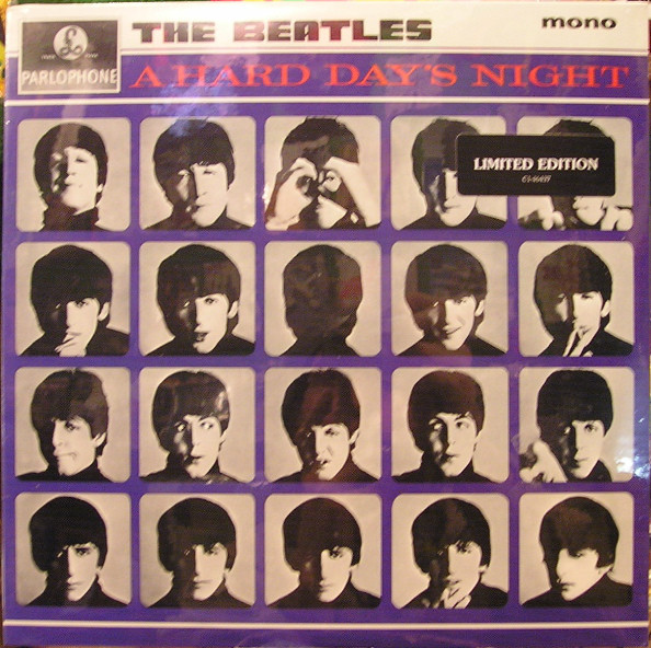 The Beatles - A Hard Day's Night - vinyl record