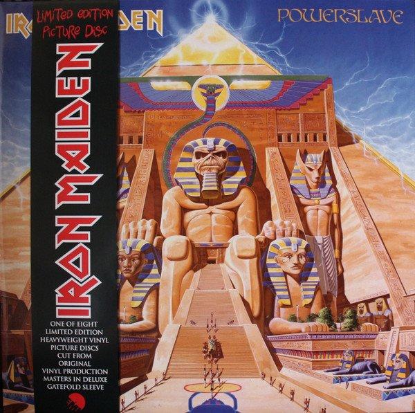 Iron Maiden - Powerslave - vinyl record