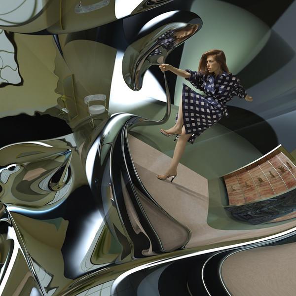 Glasser - Interiors - vinyl record
