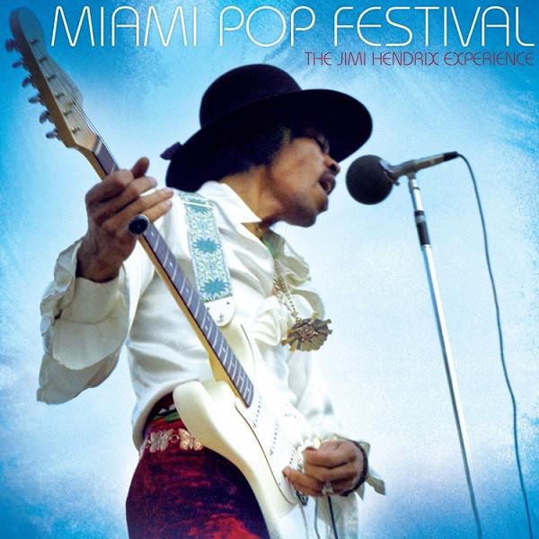 The Jimi Hendrix Experience - Miami Pop Festival - vinyl record