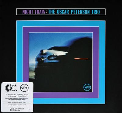 The Oscar Peterson Trio - Night Train - vinyl record