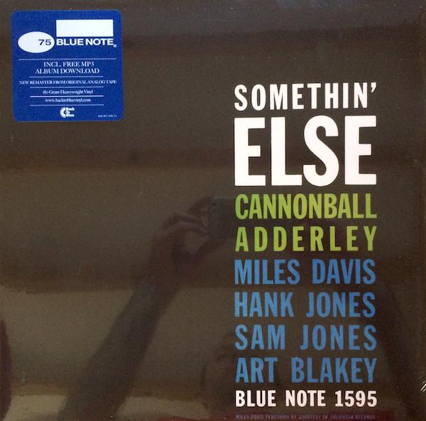 Cannonball Adderley - Somethin' Else - vinyl record