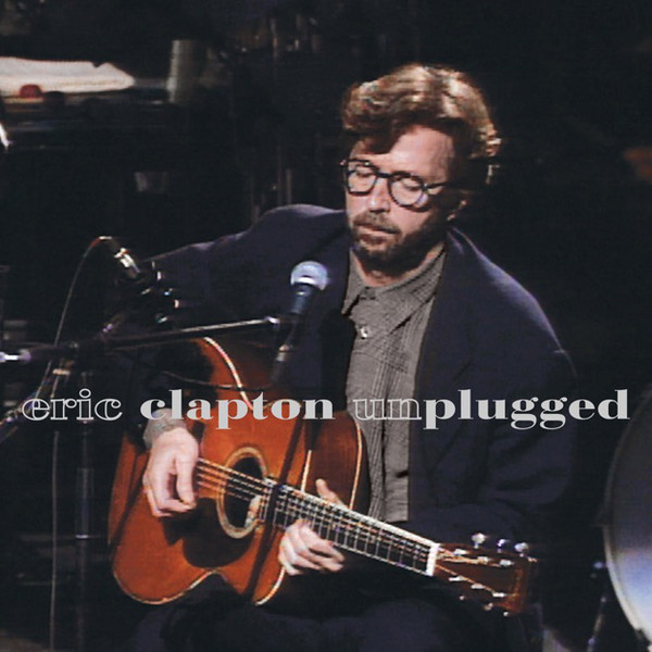 Eric Clapton - Unplugged - vinyl record