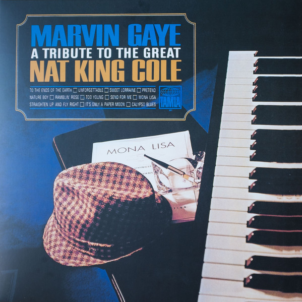 Marvin Gaye - A Tribute To The Great Nat King Cole - vinyl record