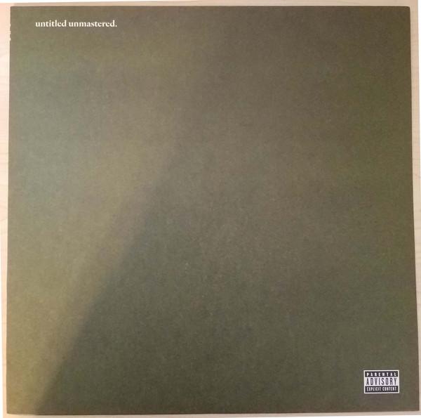 Kendrick Lamar - Untitled Unmastered. - vinyl record