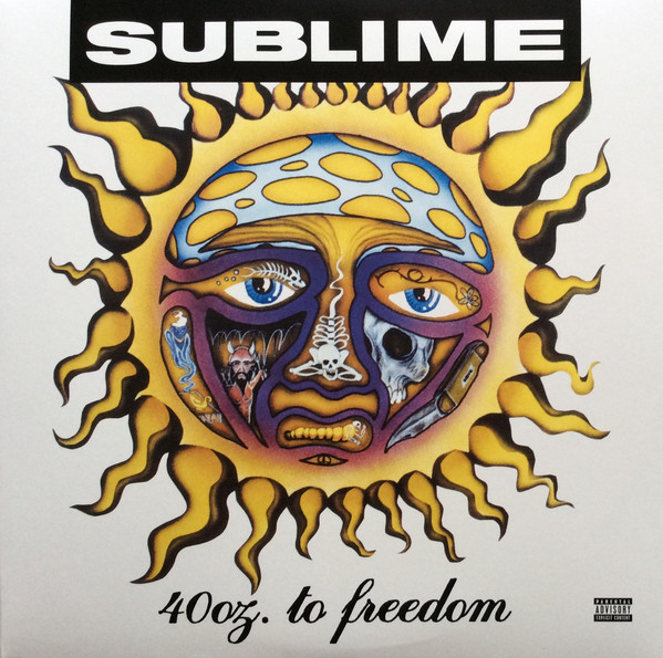 Sublime (2) - 40oz. To Freedom - vinyl record