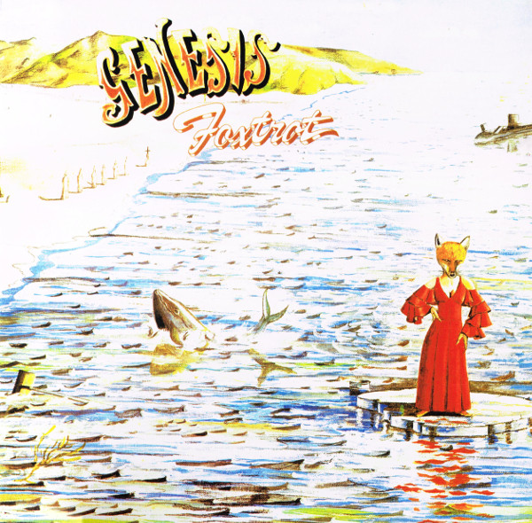 Genesis - Foxtrot - vinyl record