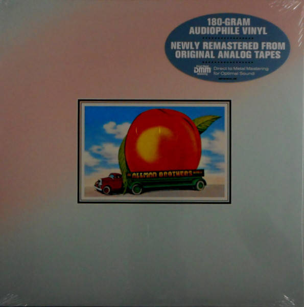 The Allman Brothers Band - Eat A Peach - vinyl record