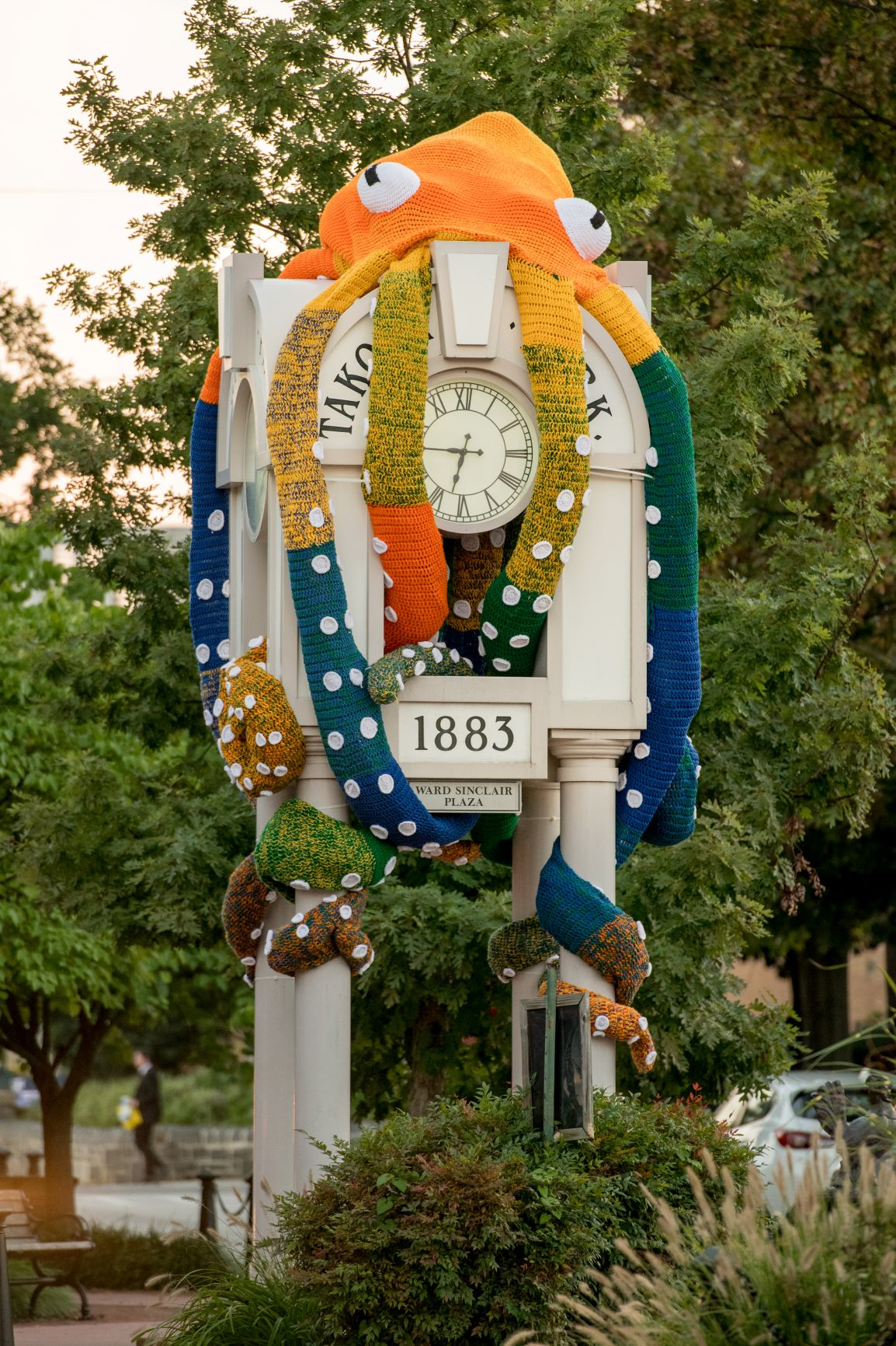 """City Announces Removal of """"Clocktopus,"""" Declares Offensive"""
