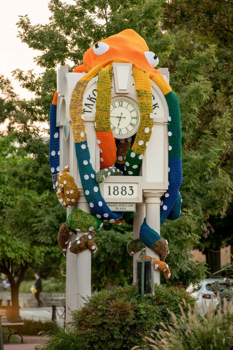 "City Announces Removal of ""Clocktopus,"" Declares Offensive"