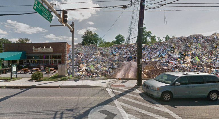 Takoma Junction Development Blocked as City Ordered to Restore Site to Original Garbage Dump