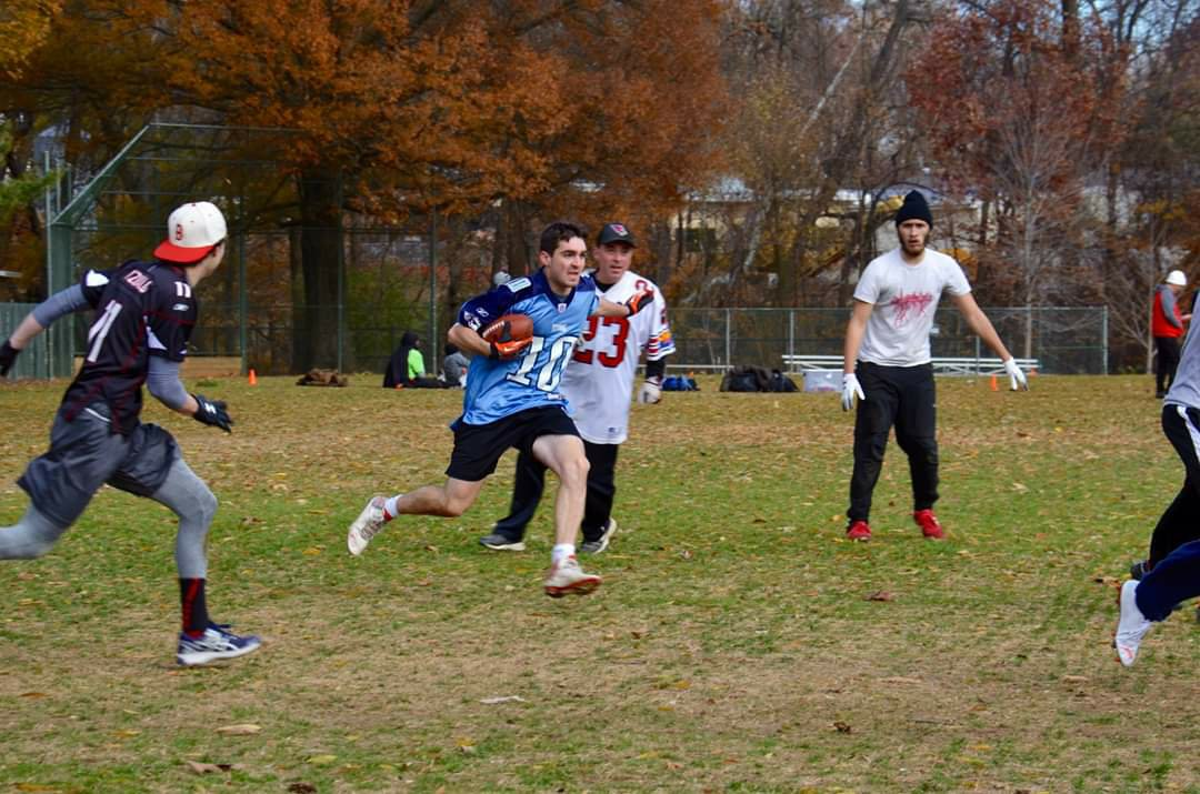 Neighborhood Touch Football Game Enters 6th Day of Overtime