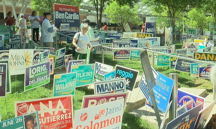 City Requires Yard Signs to Be Biodegradable, Decompose on Day After Election