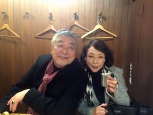 中尾彬さんと池波志乃さんご夫妻が旅の途中に立ち寄って下さいました
