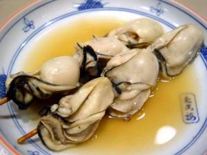 牡丹牡蠣(ぼたんかき)の関東煮(かんとだき/おでん)