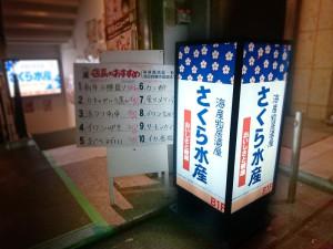 堺筋本町の「さくら水産」でふりかえりをします