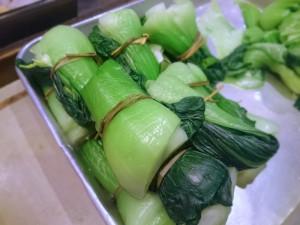 青梗菜(チンゲンサイ)の関東煮(かんとだき/おでん)