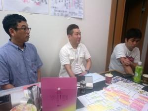 会議の「ふりかえり」で現場会議デビューについて語る葛原さん