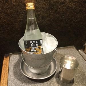 『氷バケツ冷酒』です