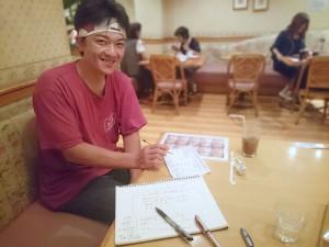 新梅田食道街 たこ梅 北店の北川さんとコーチングです