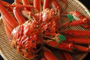 ブランド蟹とタグ