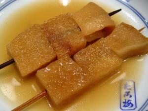 「鯨のコロ」の関東煮(かんとだき/おでん)