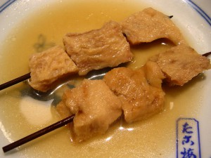 鯨の舌「さえずり®」の関東煮(かんとだき/おでん)