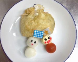 「満月ポン」の関東煮(かんとだき/おでん)クリスマス特別バージョン
