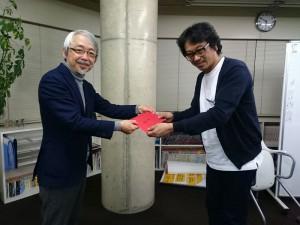 小阪裕司先生と大西さんです