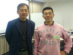 講師の小田理一郎さんと記念撮影です