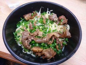 牛すじ入りバン麺