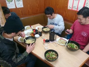 メンバーさんとお昼ご飯です