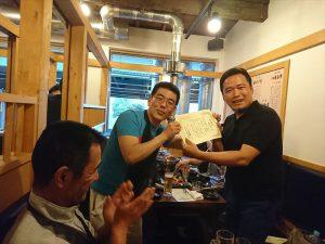 講師の松野先生に、研修5年目の感謝の気持ちです!