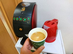 バリスタ 50でコーヒーを入れてみました
