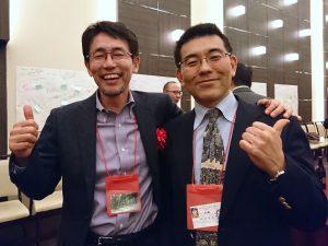 ホワイト企業大賞を受賞された「株式会社 森へ」の山田博さんと