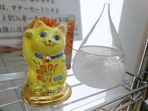社長のアカデミー賞ノミネート記念の招き猫とホワイト企業大賞特別賞の副賞テンポドロップ