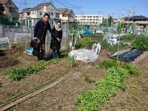 吉原さんの自然農の畑を見学に来ました!