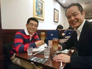 チェンジ・エージェント社の江口さんとミーティング