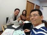5月の社内研修をコトマーケティング協会代表理事の松野先生と打合せです