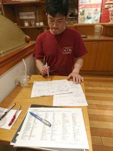 たこ梅分店の北川さんと学習経路の6グリッドを使って行動探求