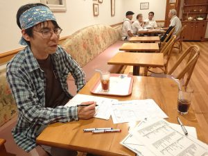 たこ梅分店の上原さんと行動探求コーチングセッション