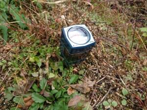 こんな風に土壌にpH計を刺して測定