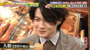 俳優の神木隆之介さんは大根を食べたら突然笑顔に