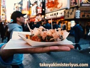 ciri khas takoyaki asli jepang