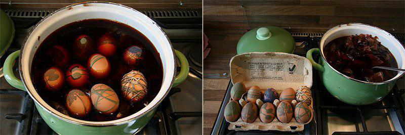 декор пасхальные яйца