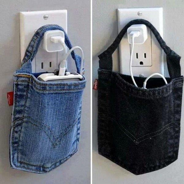 карман для зарядки мобильного телефона